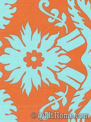 Amy Butler Belle AB08-Duck Egg :  acanthus designer diy rowan fabrics