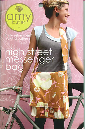 High Street Messenger Bag Pattern by Amy Butler