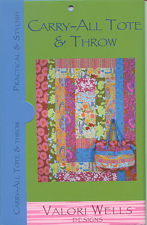 Valori Wells' Carry–All Tote and Throw