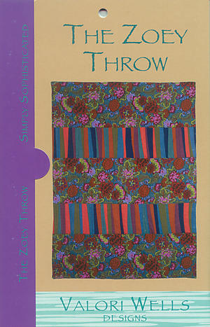 The Zoey Throw Pattern by Valori Wells