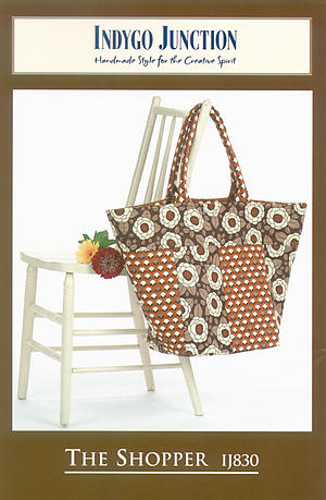 The Shopper Bag Pattern by Indygo Junction
