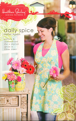 Daily Spice Halter Apron by Heather Bailey