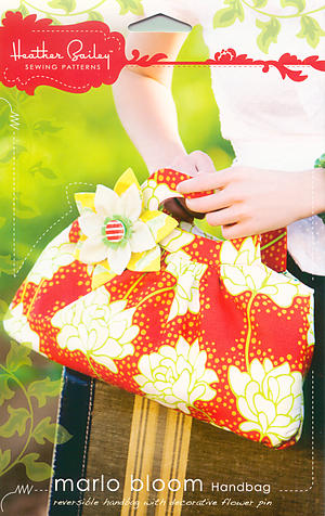 Marlo Bloom Handbag by Heather Bailey