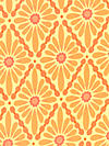 Urban Flannel FVW11-Orange Flannel Fabric by Valori Wells