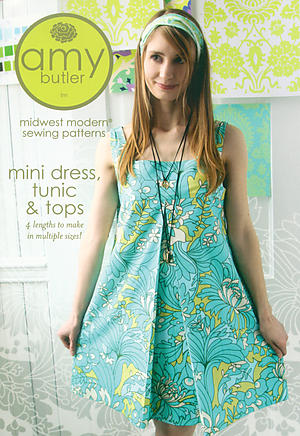 Mini Dress, Tunic & Tops Pattern by Amy Butler