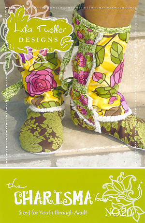 Charisma Boot Pattern by Lila Tueller