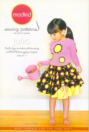Julia Double-Layer Twirl Skirt Pattern by Patty Young