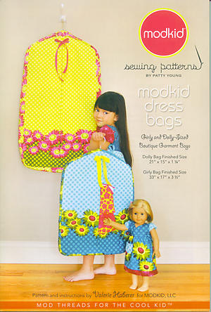 modkid dress bags Pattern by Patty Young