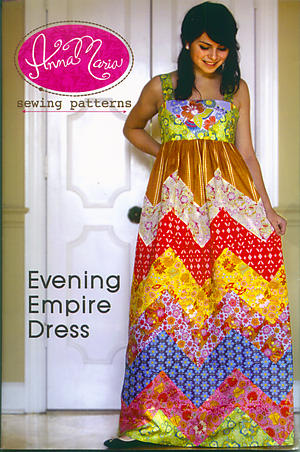 Evening Empire Dress Pattern by Anna Maria Horner