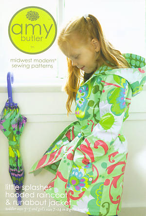 Amy Butler Little Splashes Hooded Raincoat & Runabout