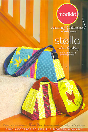 Stella Modern Handbag Pattern by Patty Young