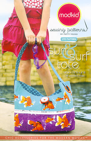 Sun & Surf Tote Pattern by Patty Young