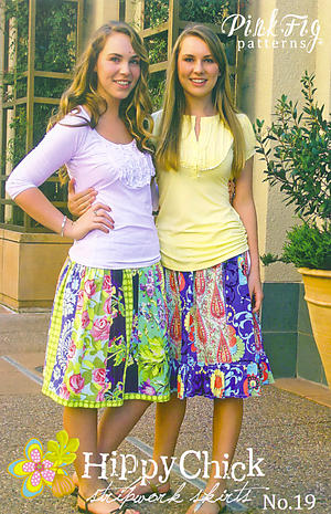 Hippy Chick Stripwork Skirts by Chelsea Andersen