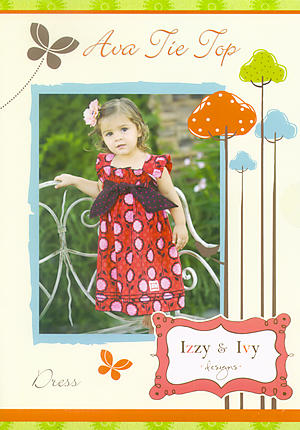 Ava Tie Top Dress Pattern by Izzy & Ivy Designs