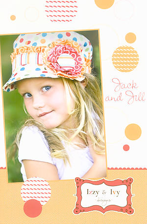 Jack and Jill Hat Pattern by Izzy & Ivy Designs