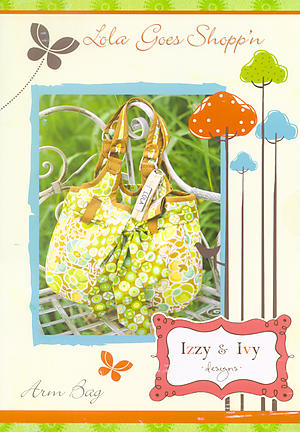 Lola Goes Shopping Bag Pattern by Izzy & Ivy Designs