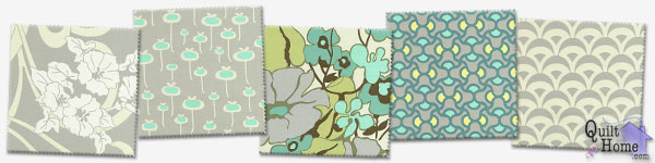 Enable images to see August Fields - Grey/Aqua Palette by Amy Butler