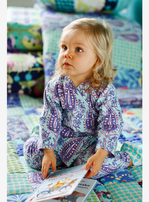 Toddler in Love Flannel