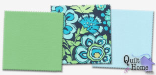 Enable images to see Daisy Chain/Quilting Solids — Aquatic Palette by Amy Butler
