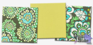 Enable images to see Daisy Chain/Quilting Solids — Basil Palette by Amy Butler
