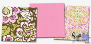 Enable images to see Daisy Chain/Quilting Solids — Blush Palette by Amy Butler