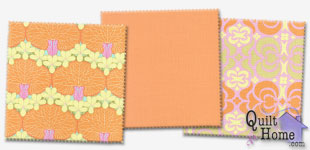 Enable images to see Midwest Modern/Quilting Solids — Orange Dahlia (2) Palette by Amy Butler