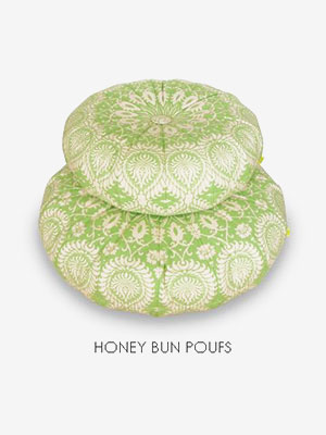 Honey Bun Poufs Pattern by Amy Butler