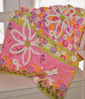 Hey Little Girl Quilt Pattern by Abbey Lane Quilts