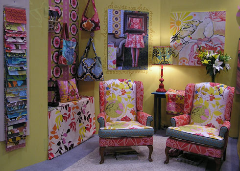 Enable Images to see Anna Maria Horner's Quilt Market booth