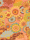 Kaffe Fassett GP89-Orange Fabric