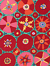 Kaffe Fassett GP105-Red Fabric