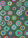 Kaffe Fassett GP109-Green Fabric