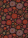 Kaffe Fassett GP110-Brown Fabric