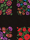 Kaffe Fassett Panel GP118-Black Fabric