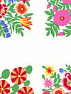 Kaffe Fassett Panel GP118-White Fabric