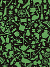 Kaffe Fassett GP119-Black Fabric