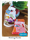Little Cell Phone Wallet Sewing Card by Valori Wells Designs