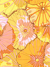 Kaffe Fassett GP29-Yellow Fabric