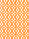 Lotus AB13-Tangerine Fabric by Amy Butler