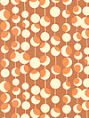 Midwest Modern AB26-Rust Fabric by Amy Butler
