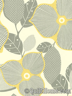 Midwest Modern AB27-Linen Fabric by Amy Butler