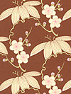 Midwest Modern AB28-Brown Fabric by Amy Butler