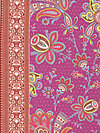 Soul Blossoms Rayon RAB04-Raspberry Rayon Fabric by Amy Butler
