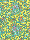 Soul Blossoms Corduroy CDAB06-Lemon Corduroy Fabric by Amy Butler