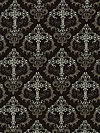 Color Stories CX4526-BLAC Fabric by Kathy Miller