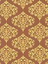 Midwest Modern AB24-Brown Fabric by Amy Butler