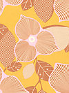 Midwest Modern AB27-Gold Fabric by Amy Butler