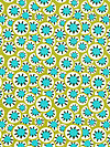 Daisy Chain AB37-Leaf Fabric by Amy Butler