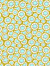 Daisy Chain AB37-Olive Fabric by Amy Butler