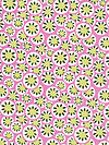 Daisy Chain AB37-Rose Fabric by Amy Butler